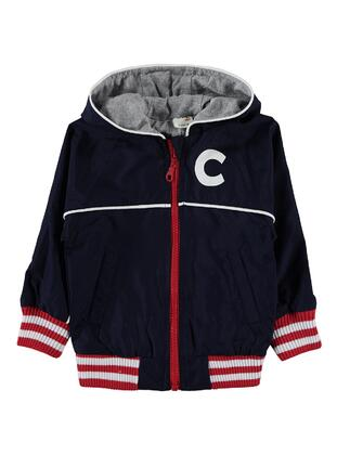 Navy Blue - Baby Raincoats -  Baby
