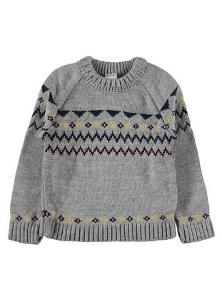 Gray - Baby Jumpers -  Baby