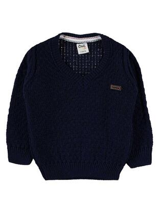 Navy Blue - Baby Jumpers - Baby
