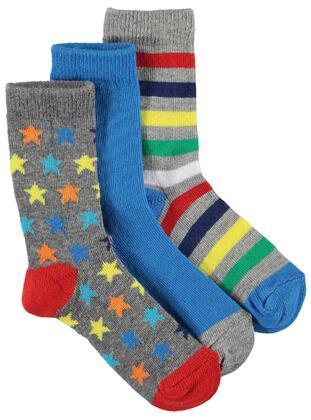 Gray - Socks - Boys