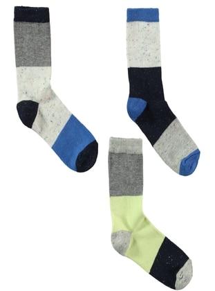 Navy Blue - Socks - Civil Boys
