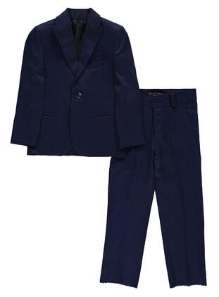 Navy Blue - Boys` Suits -  Class