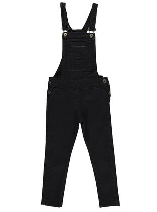 Black - Girls` Salopettes & Jumpsuits -  Girls