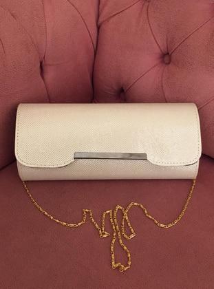 Cream - Clutch - Wallet