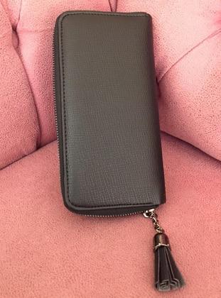 Black - Clutch - Wallet