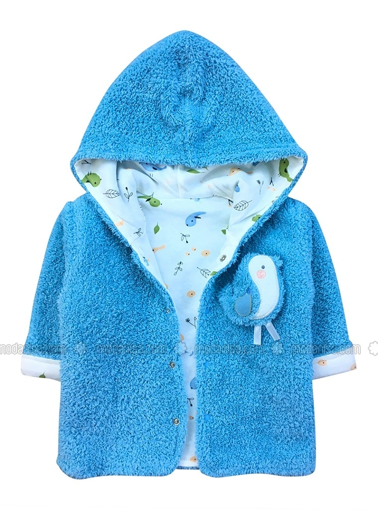 - Unlined - Blue - Baby Jacket