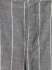 Stripe - - Gray - Boys` Pants