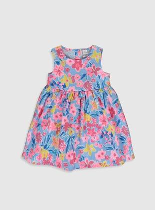 Blue - Baby Dress - LC WAIKIKI