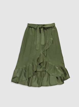 Khaki - Girls` Skirt - LC WAIKIKI