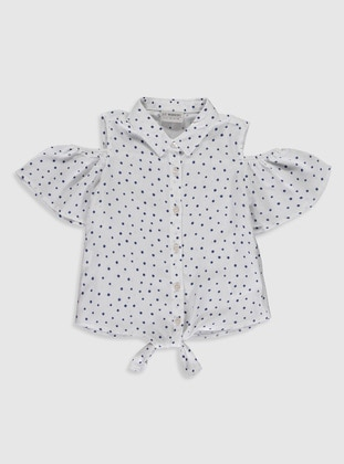 Ecru - Girls` Shirt - LC WAIKIKI