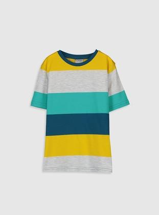 Petrol - Boys` T-Shirt