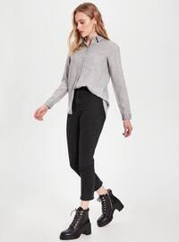 Gray - Blouses