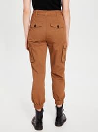 Beige - Pants