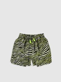 Green - Girls` Shorts