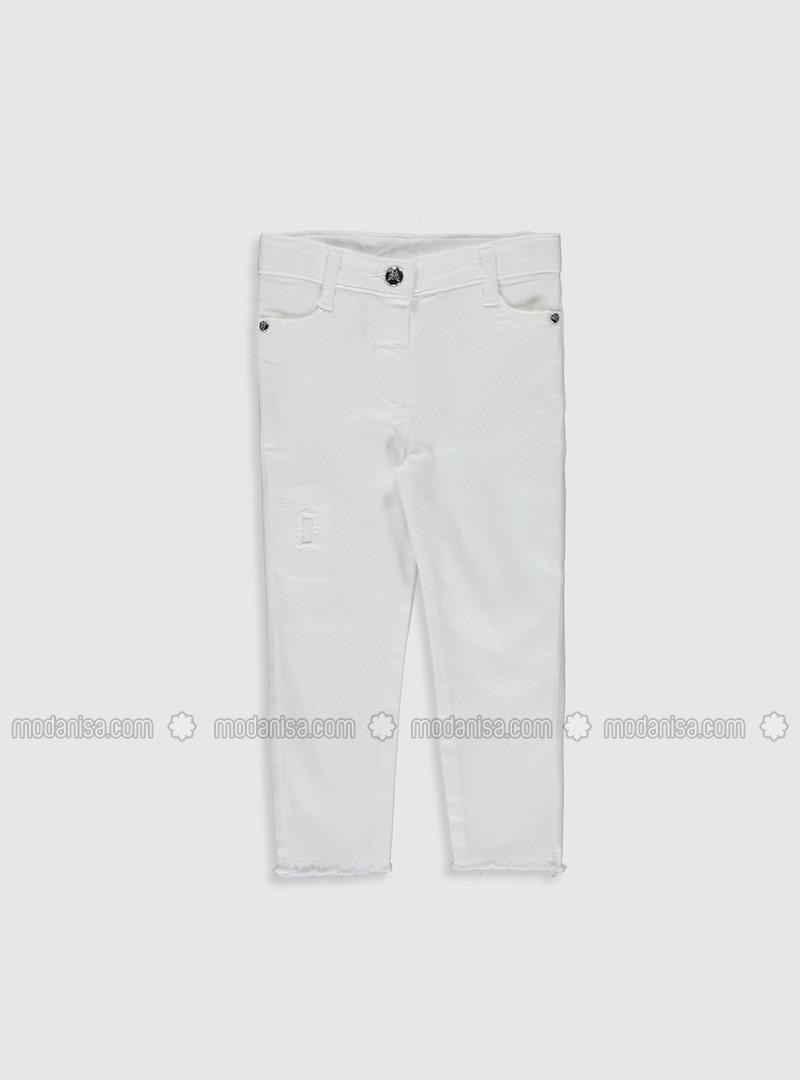 White - Baby Pants