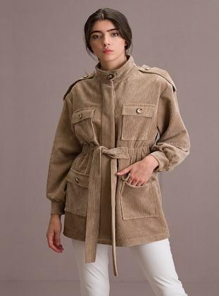 Beige - Jacket