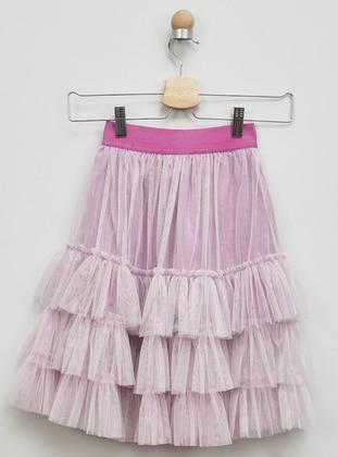 Lilac - Girls` Skirt - Panço