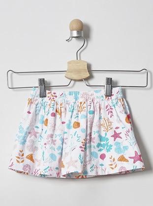 Multi - - Multi - Mint - Baby Skirt