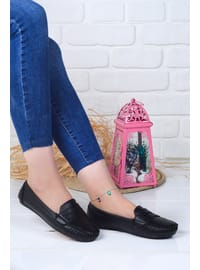 Black - Flat Shoes