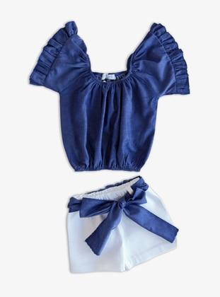 - Blue - Baby Suit