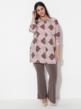 Mink -  - Plus Size Pants