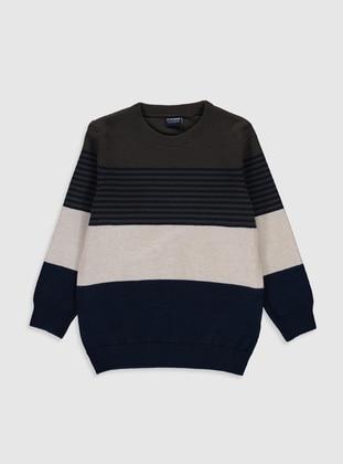 Khaki - Boys` Pullover - LC WAIKIKI