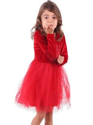 Red - Girls` Dress