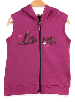 Purple - Girls` Vest