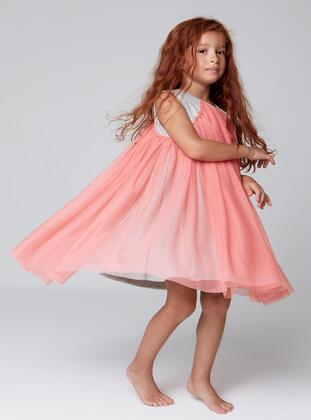 Multi - Girls` Dress
