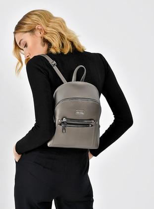 Gray - Satchel - Backpacks