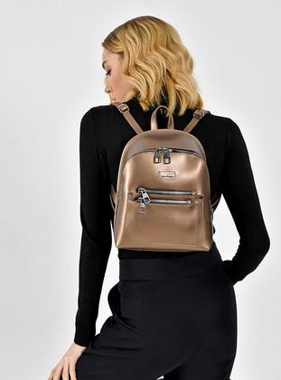 Brown - Satchel - Backpacks