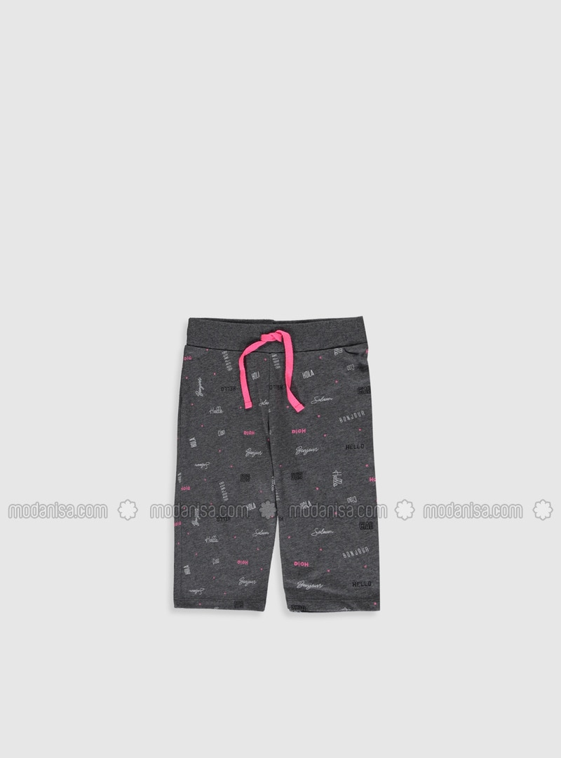 Anthracite - Girls` Shorts