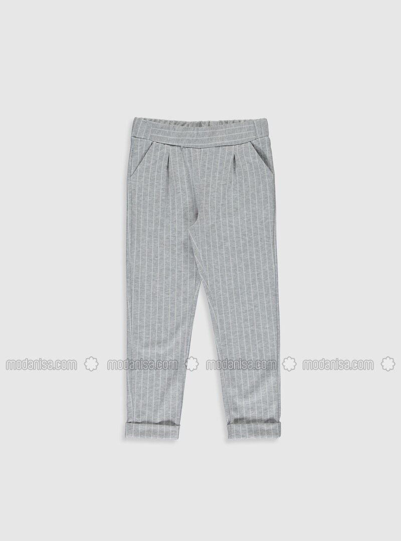 Gray - Girls` Pants