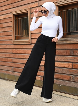 Black -  - Pants - Neways