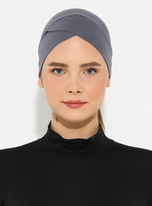 Gray - Plain - Simple -  - Bonnet