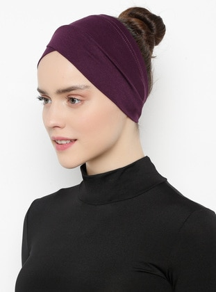 Plum - Plain - Simple -  - Bonnet