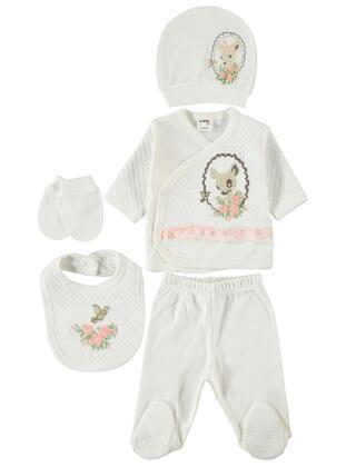 Ecru - Baby Underwear Set -  Baby