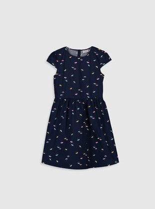 Navy Blue - Girls` Dress - LC WAIKIKI
