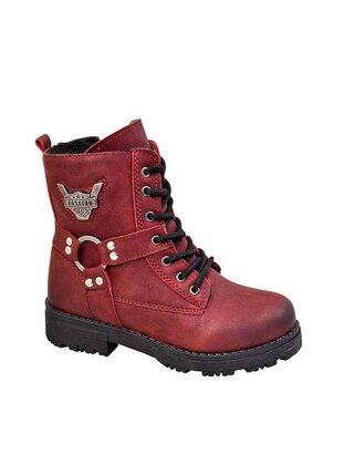 Maroon - Boot - Girls` Boots