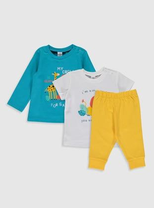 Turquoise - Baby Pyjamas