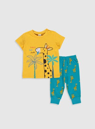 Yellow - Baby Pyjamas - LC WAIKIKI