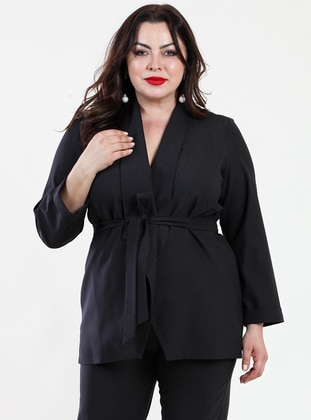 Black - Fully Lined - Suit