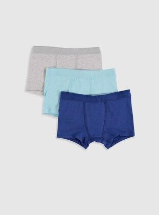Blue - Baby Underwear Set