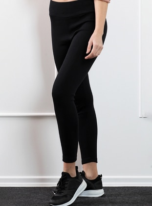 Black -  - Legging - Pinkmark
