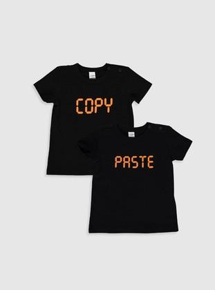Black - baby t-shirts