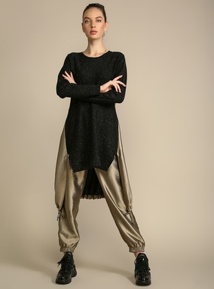 Mink -  - Viscose - Pants
