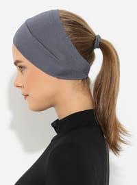 Gray - Plain - Simple -  - Bonnet