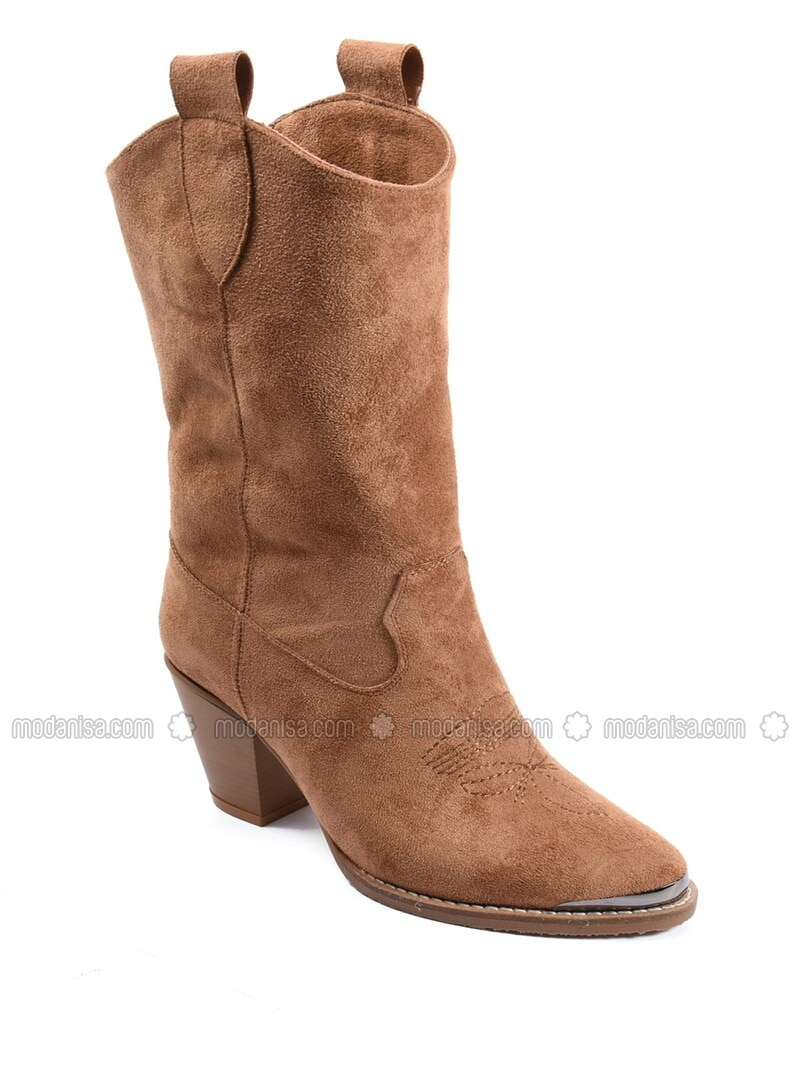 Tan - Boots