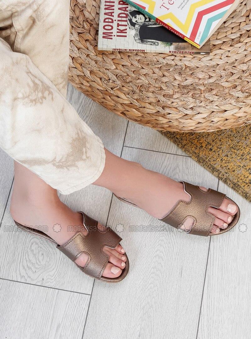 Copper - Sandal - Slippers