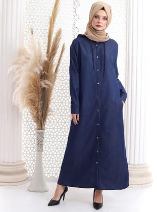 Blue - Denim - - Topcoat